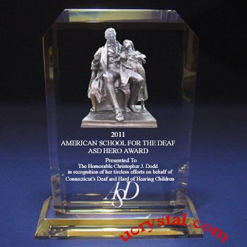 Engraved corporate awards and plaques