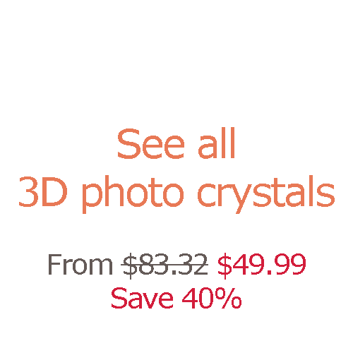 All 3D photo crystals