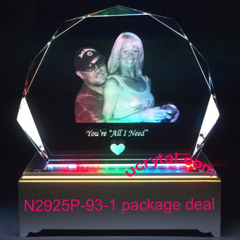 Clamshell photo crystal-XL package deal