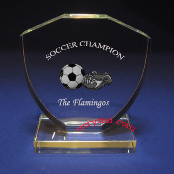 personalized crystal trophy, awards Guardian 1