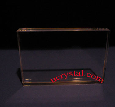 Rectangular laser crystal engraving N2710P 2