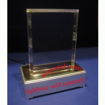 rectangular crystal plaques engraved 1